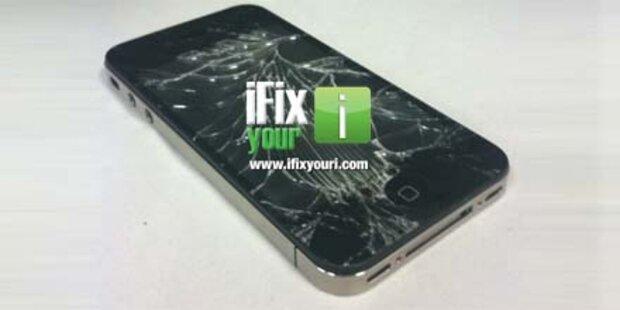Schwaches Display-Glas beim iPhone 4?