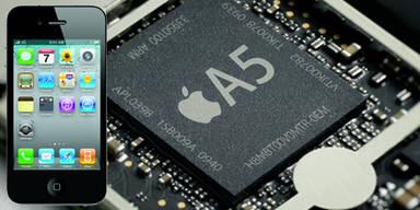 Apple: iPhones mit A5-Chip im Umlauf