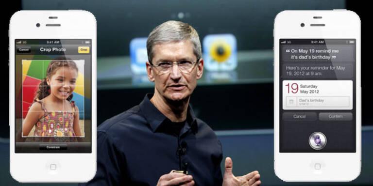 Rekord-Ansturm aufs neue iPhone 4S