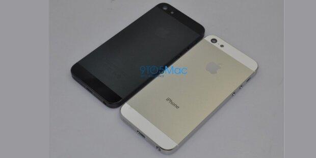 Fotos vom iPhone 5 aufgetaucht