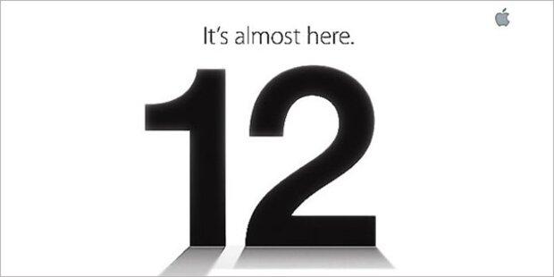 iPhone 5 wird am 12. September enthüllt