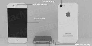 Erste Fotos vom iPhone 5 aufgetaucht?