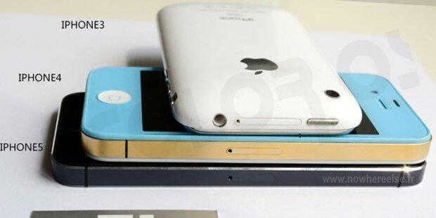 iPhone 5: Neue Fotos und Video aufgetaucht