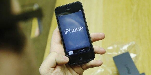 Heute iPhone5-Start in Osterreich