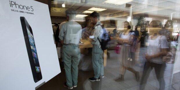 iPhone 5-Fans stürmten zum Start die Shops