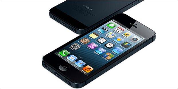 iPhone 5 gibt es bei A1 ab 199 Euro