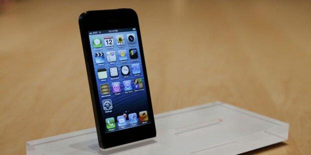 iPhone 5 bei uns ab 21. September bestellbar