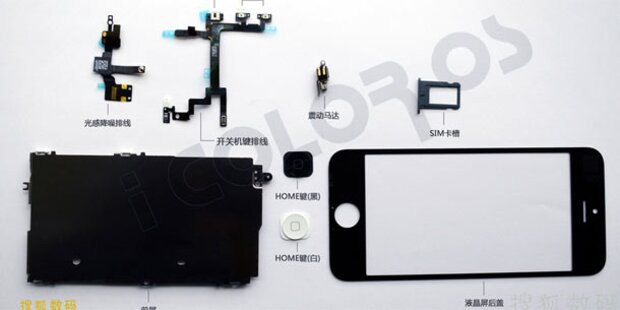 Neue Fotos: iPhone 5 in Startlöchern