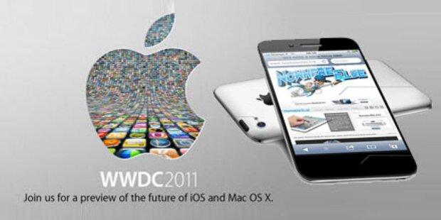 Kommt das iPhone 5 am 6. Juni 2011?
