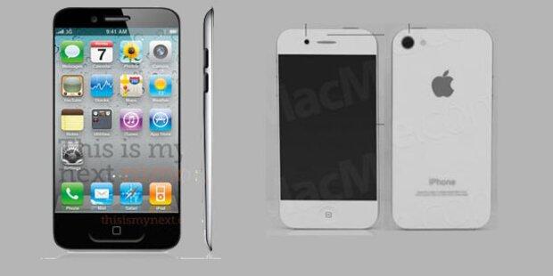 iPhone 5: Erste Geräte bei Mobilfunkern
