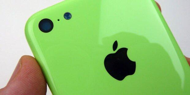 Ist hier das iPhone 5C zu sehen?