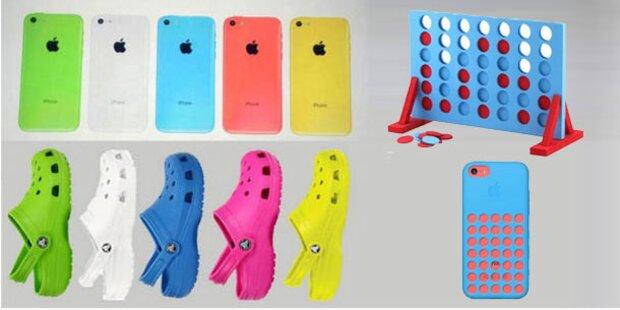 Internet spottet über buntes Plastik-iPhone