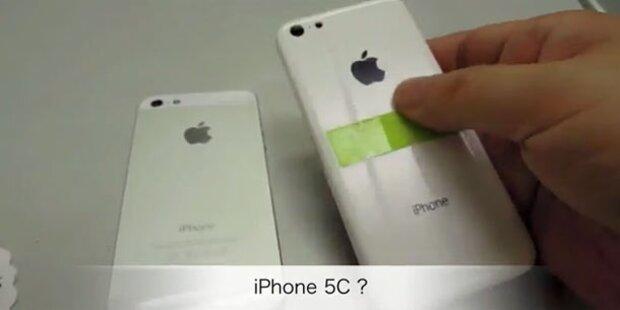 Videos von iPhone 5C und iPad 5 aufgetaucht