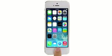 iPhone 5S mit Fingerprint-Sensor