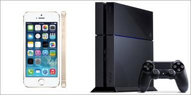 PS4 und iPhone 5s so günstig wie nie