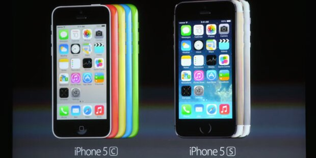 Apple greift mit iPhone 5S und 5C an