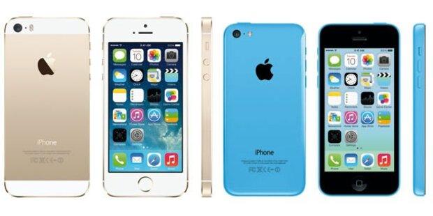 Startschuss für iPhone 5S & iPhone 5C