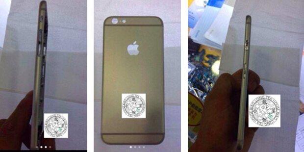 iPhone 6: Fotos zeigen superschlankes Design