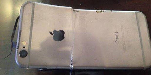 Brandneues iPhone 6 explodiert