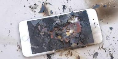 Video zeigt, wie iPhone 6 schmilzt