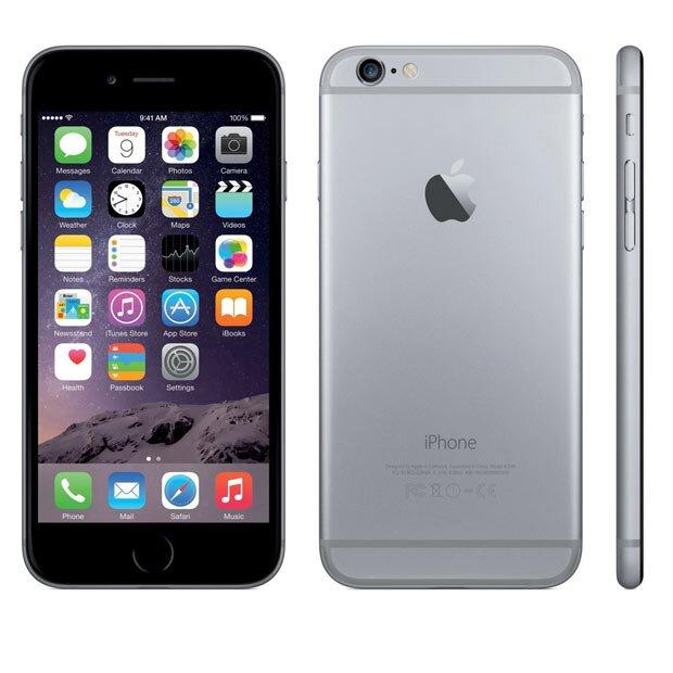 iPhone 6 und iPhone 6 Plus zum Ausdrucken PDF Größenvergleich
