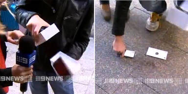 Erster Käufer ließ sein iPhone 6 fallen