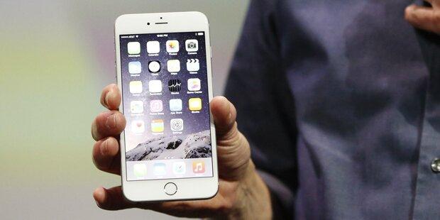 iPhone 6 verbiegt gar nicht so leicht