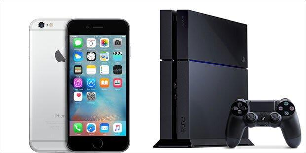 iPhone 6 & PS4-Bundle billig wie nie