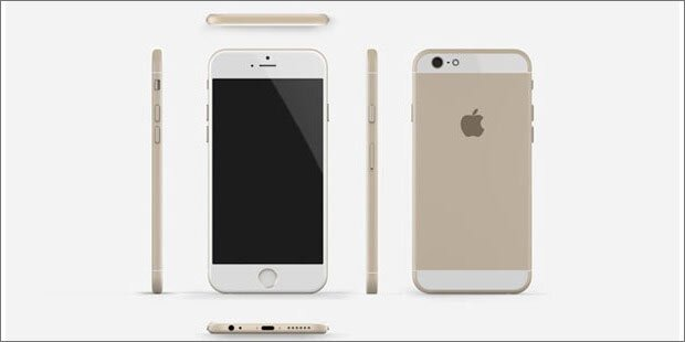 So soll das iPhone 6 aussehen
