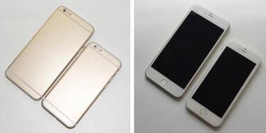 iPhone 6: Fotos beider Versionen geleakt