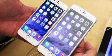 iPhone 6 geht weg wie warme Semmeln