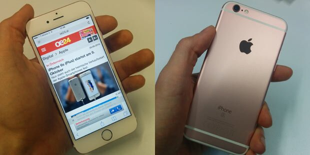 Neues iPhone 6s im oe24.at-Test