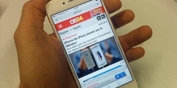 iPhone 6s ab sofort in Österreich