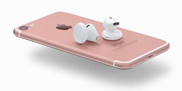 """iPhone 7: """"AirPods"""" werden cool, aber teuer"""