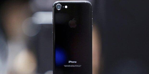 Bei vielen iPhone 7 blättert der Lack ab