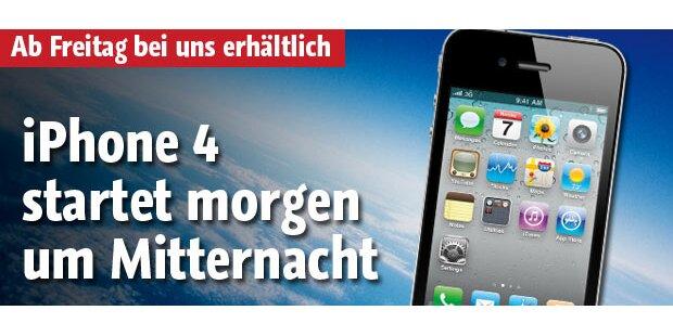 iPhone 4 startet um Mitternacht