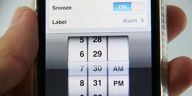 Smartphone schon am Morgen wichtig