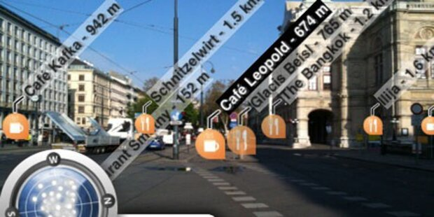 Mobiler Reiseführer mit Röntgen-Blick