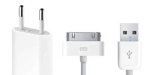 Apple warnt vor iPhone-Ladegeräten