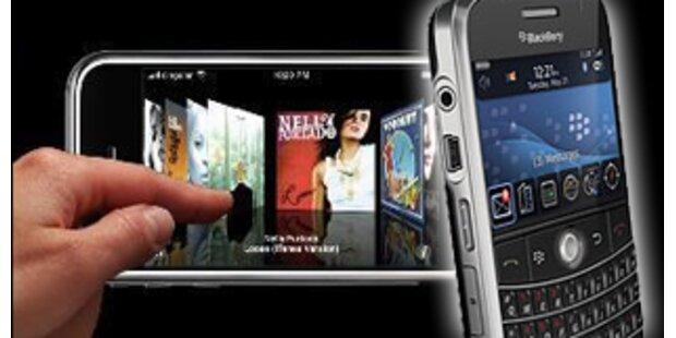 RIM bringt neuen Touchscreen-BlackBerry