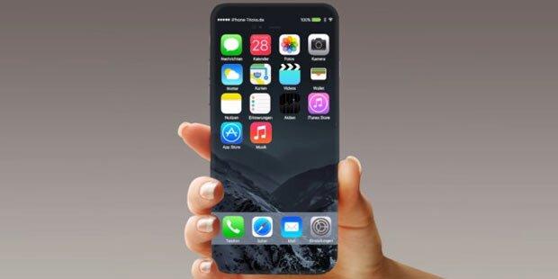 iPhone 8 bekommt radikales Neudesign