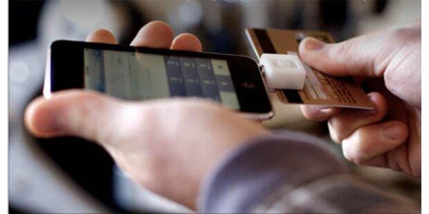 Bezahlen mit Kreditkarte und iPhone