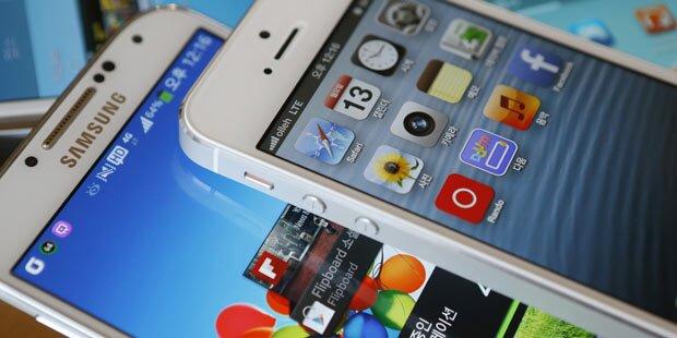 iOS & Android hängen alle ab