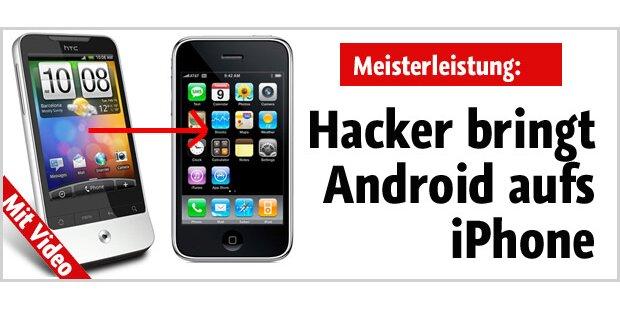 Android funktioniert auf dem iPhone