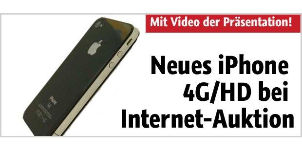 Neues iPhone 4G/HD bei Internet-Auktion