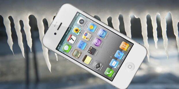 iPhone 4S versagt bei Minusgraden
