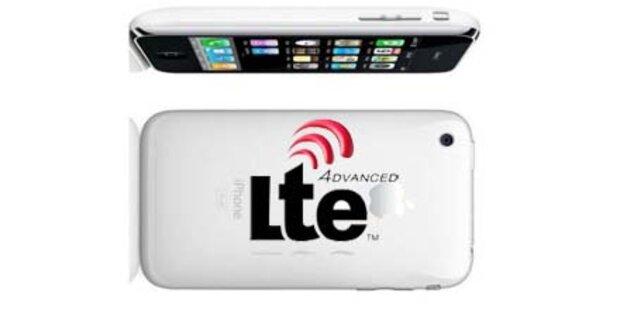 Kommende iPhones unterstützen LTE