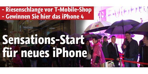 iPhone 4: Schlange vor T-Mobile-Shop