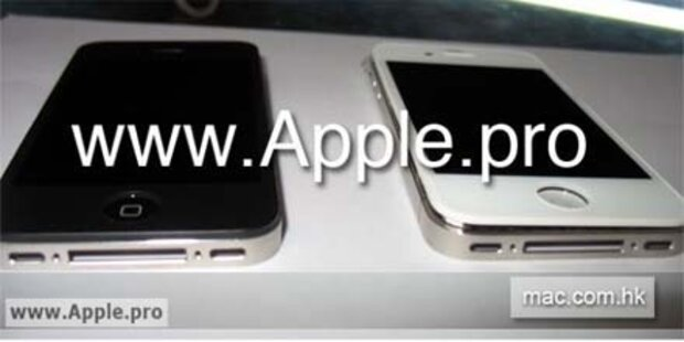 Erste Fotos vom neuen iPhone in weiß