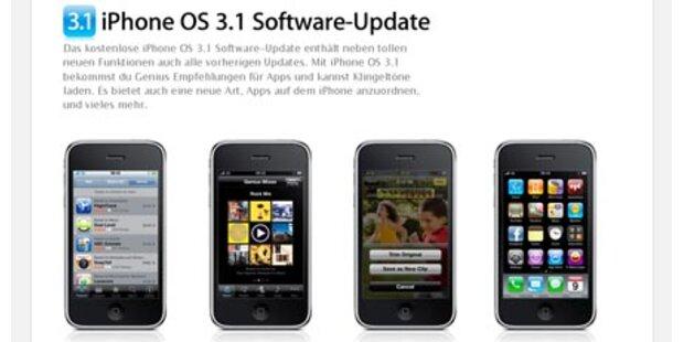 iPhone OS 3.1 sorgt für viele Probleme